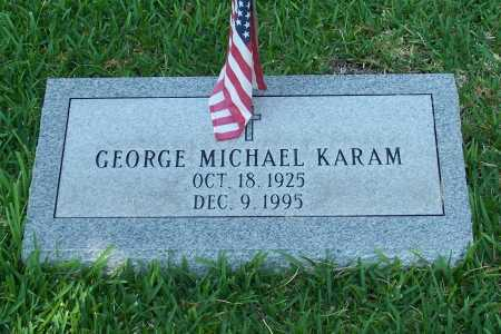 KARAM, GEORGE MICHAEL - Santa Cruz County, Arizona   GEORGE MICHAEL KARAM - Arizona Gravestone Photos