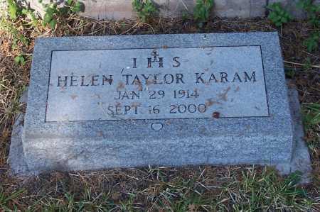 KARAM, HELEN - Santa Cruz County, Arizona | HELEN KARAM - Arizona Gravestone Photos