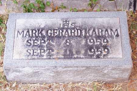KARAM, MARK GERARD - Santa Cruz County, Arizona   MARK GERARD KARAM - Arizona Gravestone Photos