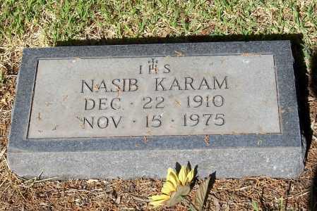KARAM, NASIB - Santa Cruz County, Arizona | NASIB KARAM - Arizona Gravestone Photos