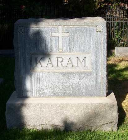 KARAM, ALEXANDER N - Santa Cruz County, Arizona | ALEXANDER N KARAM - Arizona Gravestone Photos