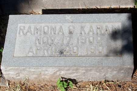 KARAM, RAMONA C - Santa Cruz County, Arizona | RAMONA C KARAM - Arizona Gravestone Photos