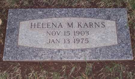 KARNS, HELENA M. - Santa Cruz County, Arizona | HELENA M. KARNS - Arizona Gravestone Photos