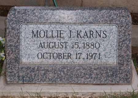 KARNS, MOLLIE I. - Santa Cruz County, Arizona | MOLLIE I. KARNS - Arizona Gravestone Photos