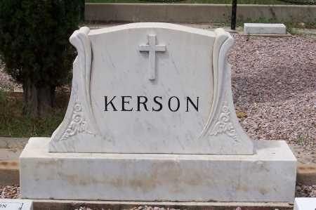 KERSON, DEMTRIO - Santa Cruz County, Arizona | DEMTRIO KERSON - Arizona Gravestone Photos