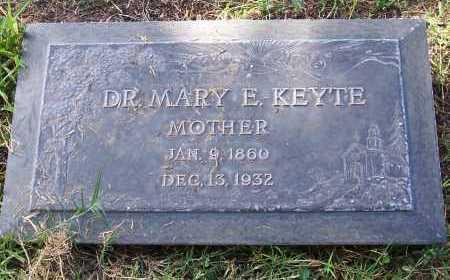 KEYTE, MARY E. - Santa Cruz County, Arizona | MARY E. KEYTE - Arizona Gravestone Photos
