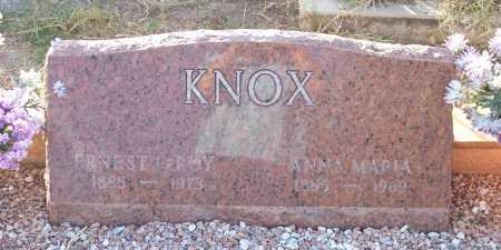 KNOX, ANNA MARIA - Santa Cruz County, Arizona | ANNA MARIA KNOX - Arizona Gravestone Photos