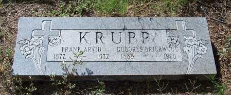 BRICKWOOD KRUPP, DOLORES - Santa Cruz County, Arizona | DOLORES BRICKWOOD KRUPP - Arizona Gravestone Photos
