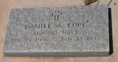 KURC, DANIEL A. - Santa Cruz County, Arizona   DANIEL A. KURC - Arizona Gravestone Photos