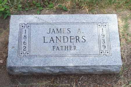 LANDERS, JAMES A. - Santa Cruz County, Arizona   JAMES A. LANDERS - Arizona Gravestone Photos