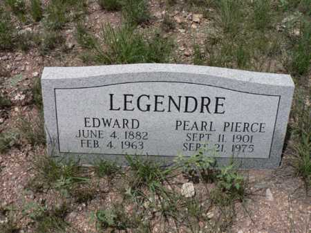 LEGENDRE, PEARL - Santa Cruz County, Arizona | PEARL LEGENDRE - Arizona Gravestone Photos