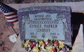 LINDSEY, EUNICE - Santa Cruz County, Arizona | EUNICE LINDSEY - Arizona Gravestone Photos