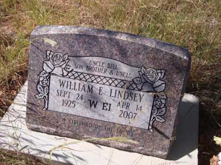 LINDSEY, WILLIAM E. - Santa Cruz County, Arizona | WILLIAM E. LINDSEY - Arizona Gravestone Photos