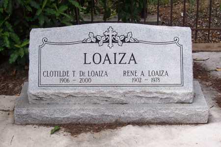 LOAIZA, DE, CLOTILDE T. - Santa Cruz County, Arizona | CLOTILDE T. LOAIZA, DE - Arizona Gravestone Photos