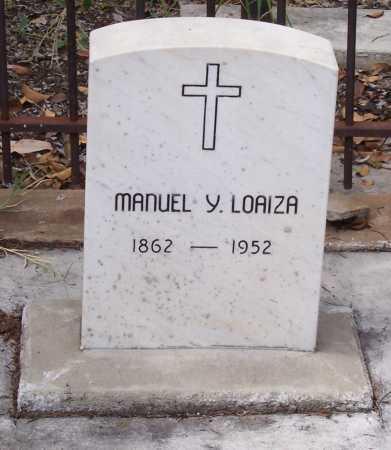 LOAIZA, MANUEL Y. - Santa Cruz County, Arizona | MANUEL Y. LOAIZA - Arizona Gravestone Photos