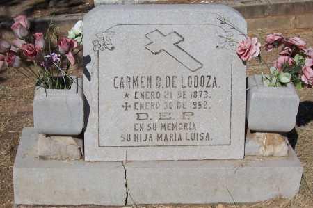 LODOZA, DE, CARMEN B. - Santa Cruz County, Arizona | CARMEN B. LODOZA, DE - Arizona Gravestone Photos