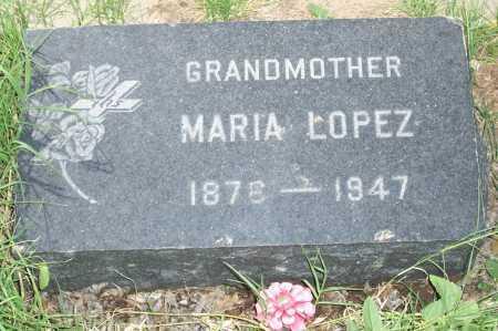 LOPEZ, MARIA - Santa Cruz County, Arizona | MARIA LOPEZ - Arizona Gravestone Photos