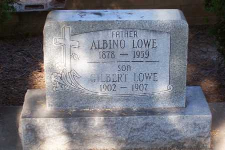 LOWE, ALBINO - Santa Cruz County, Arizona   ALBINO LOWE - Arizona Gravestone Photos