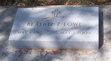 LOWE, BEATRIZ Z. - Santa Cruz County, Arizona | BEATRIZ Z. LOWE - Arizona Gravestone Photos