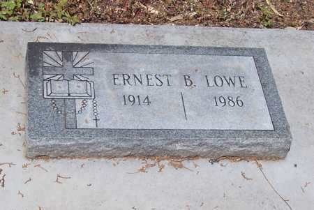 LOWE, ERNEST B. - Santa Cruz County, Arizona   ERNEST B. LOWE - Arizona Gravestone Photos