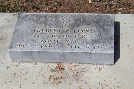 LOWE, GILBERT B. - Santa Cruz County, Arizona | GILBERT B. LOWE - Arizona Gravestone Photos