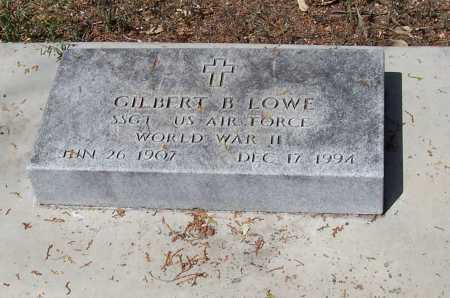 LOWE, GILBERT B. - Santa Cruz County, Arizona | GILBERT B. LOWE - Arizona Gravestone Photos