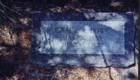 LOWE, GRACE RAMONA - Santa Cruz County, Arizona   GRACE RAMONA LOWE - Arizona Gravestone Photos