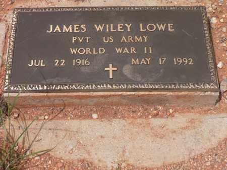 LOWE, JAMES WILEY - Santa Cruz County, Arizona | JAMES WILEY LOWE - Arizona Gravestone Photos