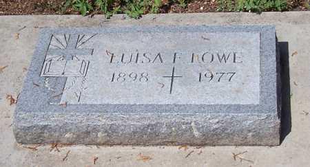 LOWE, LUISA F. - Santa Cruz County, Arizona   LUISA F. LOWE - Arizona Gravestone Photos