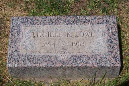 LOWE, LUCILLE K. - Santa Cruz County, Arizona | LUCILLE K. LOWE - Arizona Gravestone Photos