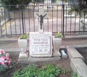 FELIX MANZANEDO, ROSA - Santa Cruz County, Arizona | ROSA FELIX MANZANEDO - Arizona Gravestone Photos