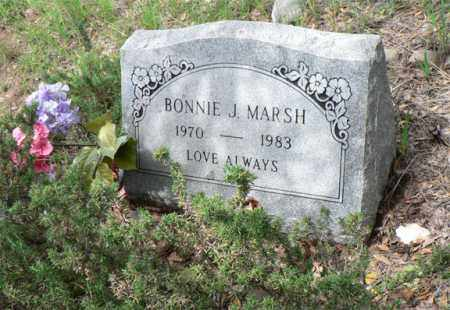 MARSH, BONNIE J. - Santa Cruz County, Arizona | BONNIE J. MARSH - Arizona Gravestone Photos