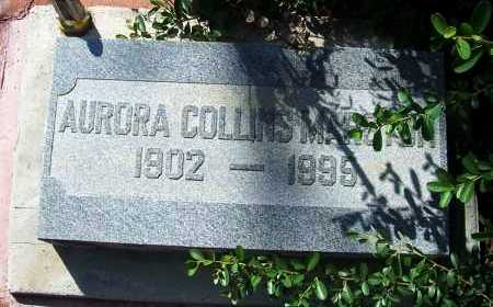 MARSTON, AURORA - Santa Cruz County, Arizona | AURORA MARSTON - Arizona Gravestone Photos