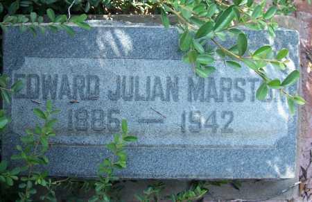 MARSTON, EDWARD JULIAN - Santa Cruz County, Arizona | EDWARD JULIAN MARSTON - Arizona Gravestone Photos