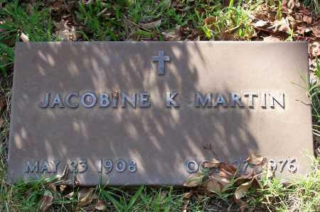 MARTIN, JACOBINE K - Santa Cruz County, Arizona | JACOBINE K MARTIN - Arizona Gravestone Photos