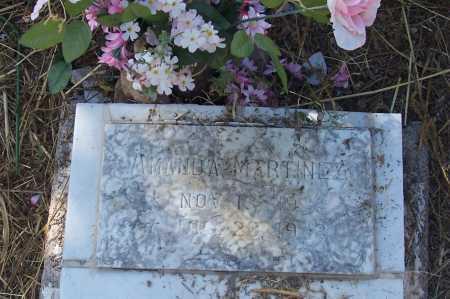 MARTINEZ, AMANDA - Santa Cruz County, Arizona   AMANDA MARTINEZ - Arizona Gravestone Photos