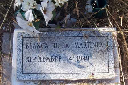 MARTINEZ, BLANCA JULIA - Santa Cruz County, Arizona | BLANCA JULIA MARTINEZ - Arizona Gravestone Photos