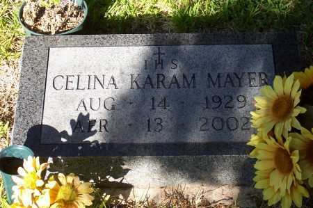 KARAM MAYER, CELINA - Santa Cruz County, Arizona | CELINA KARAM MAYER - Arizona Gravestone Photos