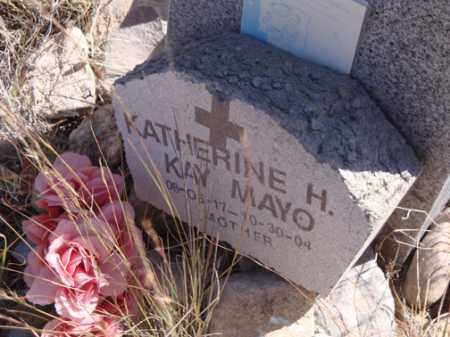 MAYO, KATHERINE  (KAY) - Santa Cruz County, Arizona | KATHERINE  (KAY) MAYO - Arizona Gravestone Photos