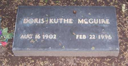 MCGUIRE, DORIS - Santa Cruz County, Arizona | DORIS MCGUIRE - Arizona Gravestone Photos