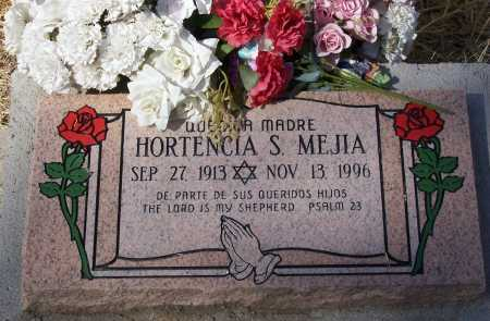 MEJIA, HORTENCIA S. - Santa Cruz County, Arizona   HORTENCIA S. MEJIA - Arizona Gravestone Photos