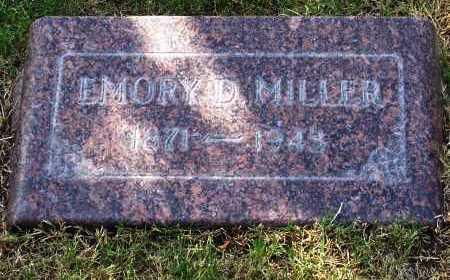 MILLER, EMORY D. - Santa Cruz County, Arizona | EMORY D. MILLER - Arizona Gravestone Photos