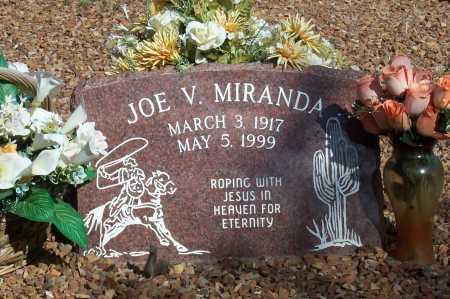 MIRANDA, JOE V. - Santa Cruz County, Arizona | JOE V. MIRANDA - Arizona Gravestone Photos
