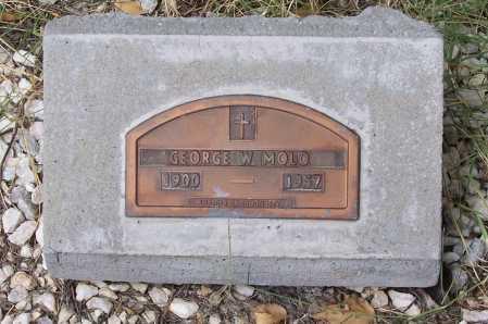 MOLO, GEORGE W. - Santa Cruz County, Arizona | GEORGE W. MOLO - Arizona Gravestone Photos