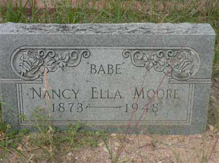 LITTLEFIELD MOORE, NANCY ELLA - Santa Cruz County, Arizona | NANCY ELLA LITTLEFIELD MOORE - Arizona Gravestone Photos