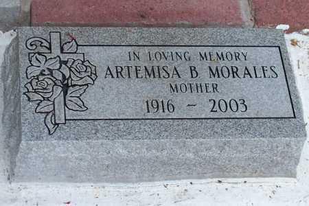 MORALES, ARTEMISA B. - Santa Cruz County, Arizona   ARTEMISA B. MORALES - Arizona Gravestone Photos