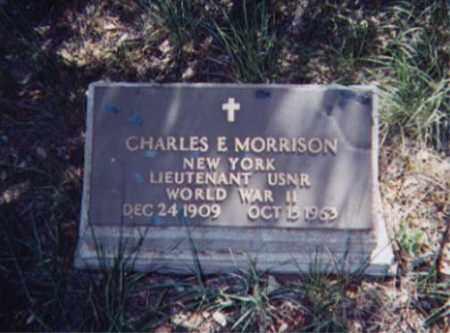 MORRISON, CHARLES E. - Santa Cruz County, Arizona | CHARLES E. MORRISON - Arizona Gravestone Photos