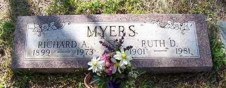MYERS, RUTH D. - Santa Cruz County, Arizona   RUTH D. MYERS - Arizona Gravestone Photos