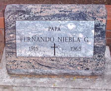 NIEBLA G., FERNANDO - Santa Cruz County, Arizona | FERNANDO NIEBLA G. - Arizona Gravestone Photos