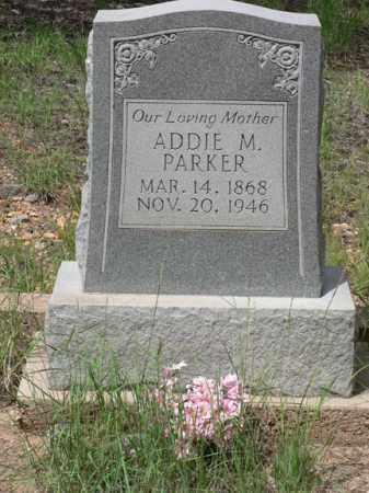 MUSGRAVE PARKER, ADDIE - Santa Cruz County, Arizona | ADDIE MUSGRAVE PARKER - Arizona Gravestone Photos